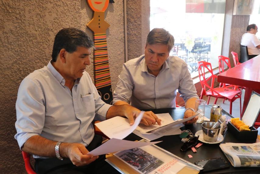 Leandro Zdero y Carlos Alabe
